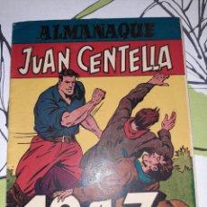 Tebeos: ALMANAQUE DOBLE DE JUAN CENTELLA Y JORGE Y FERNANDO PARA 1947, ORIGINAL Y MUY NUEVO. Lote 222383527