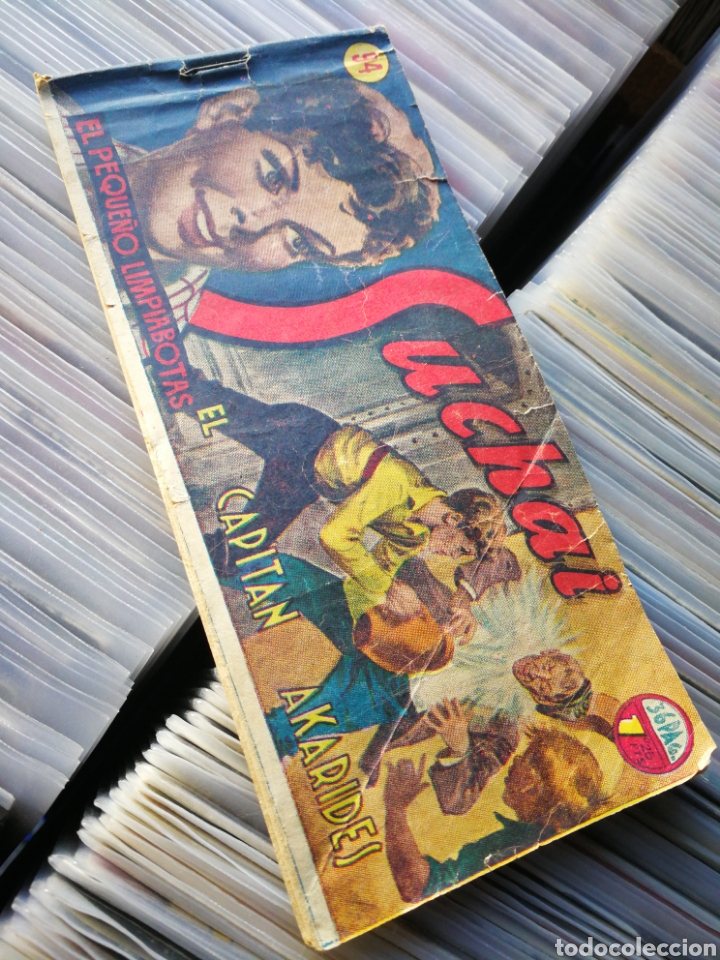 SUCHAI- EL CAPITAN AKARIDES, N°94. EDICIONES HISPANO AMERICANA. (Tebeos y Comics - Hispano Americana - Suchai)