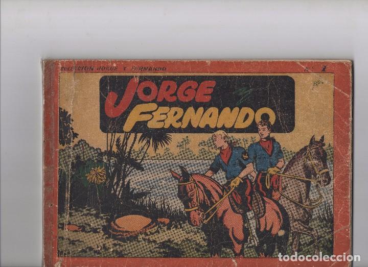 JORGE Y FERNANDO ÁLBUM Nº 1 (Tebeos y Comics - Hispano Americana - Otros)