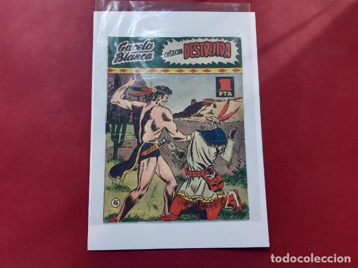 GACELA BLANCA Nº 46 ORIGINAL -EN BUEN ESTADO- LEER DESCRIPCION - (Tebeos y Comics - Hispano Americana - Otros)