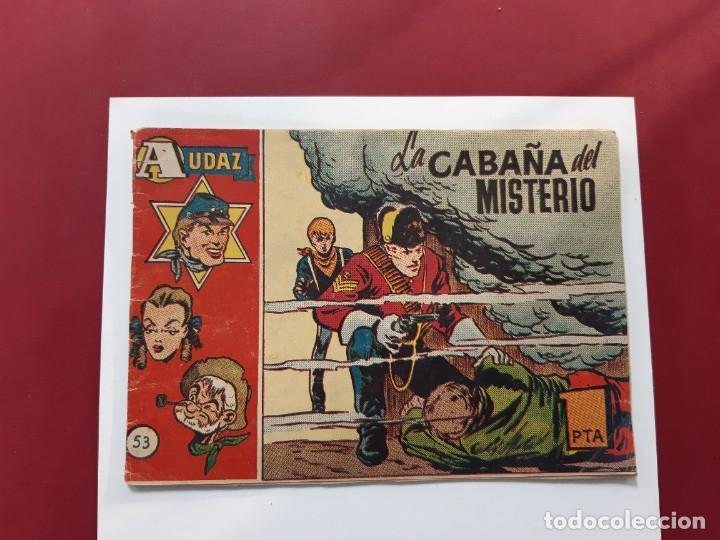 AUDAZ Nº 53 (ORIGINAL HISPANO AMERICANA) BUEN ESTADO (Tebeos y Comics - Hispano Americana - Otros)