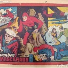 Tebeos: EL HOMBRE ENMASCARADO Nº 8 - ORIGINAL HISPANO AMERICANA. Lote 223991583