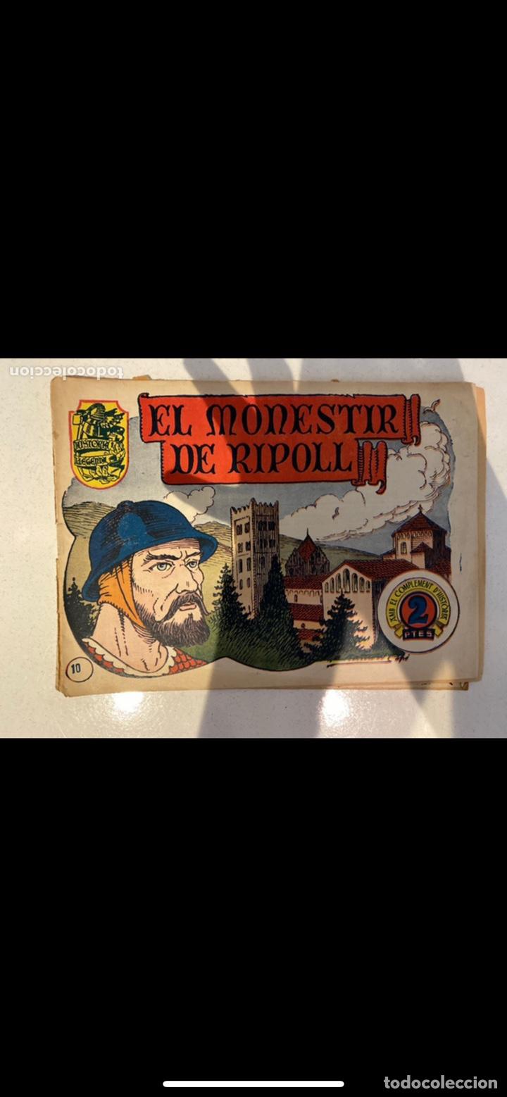 Tebeos: HISTORIA I LLEGENDA ... lote de 14CUADERNILLOS EN ORIGINAL - Foto 2 - 224130220