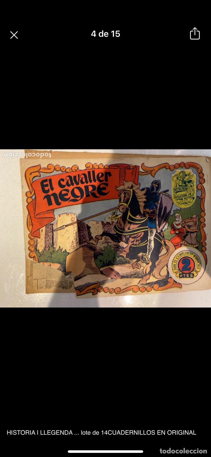 Tebeos: HISTORIA I LLEGENDA ... lote de 14CUADERNILLOS EN ORIGINAL - Foto 4 - 224130220