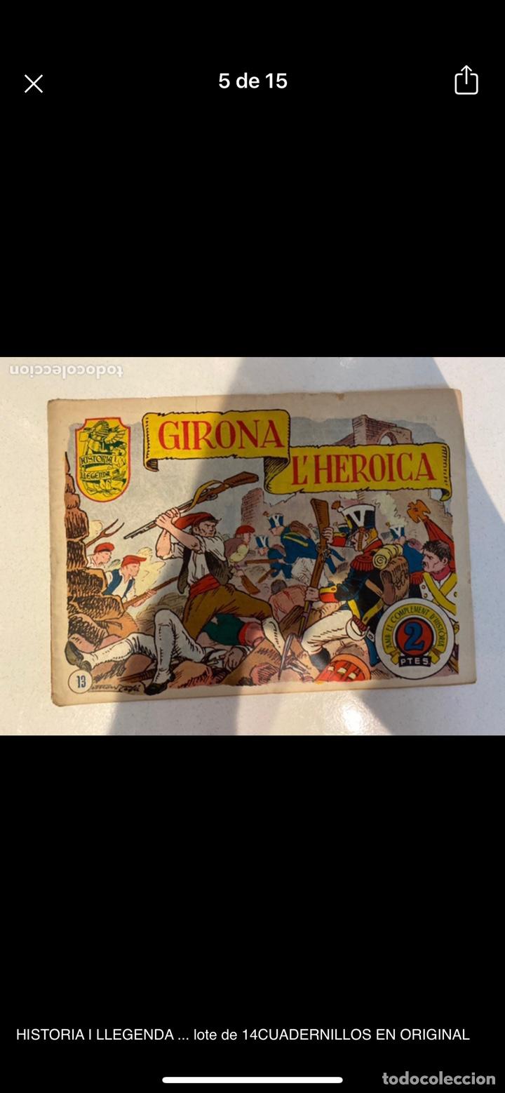 Tebeos: HISTORIA I LLEGENDA ... lote de 14CUADERNILLOS EN ORIGINAL - Foto 5 - 224130220