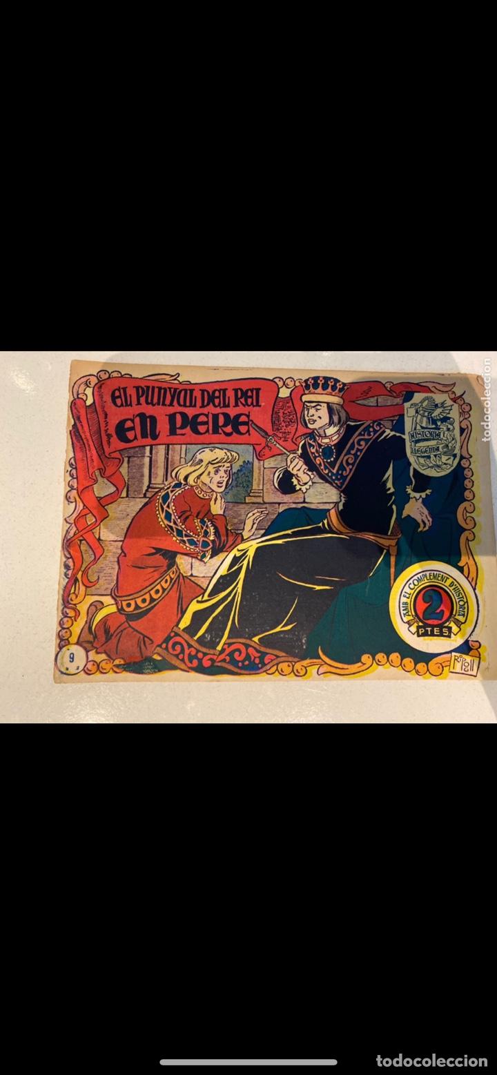 Tebeos: HISTORIA I LLEGENDA ... lote de 14CUADERNILLOS EN ORIGINAL - Foto 9 - 224130220