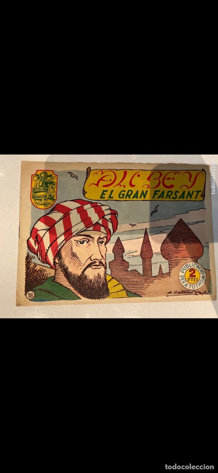 Tebeos: HISTORIA I LLEGENDA ... lote de 14CUADERNILLOS EN ORIGINAL - Foto 10 - 224130220