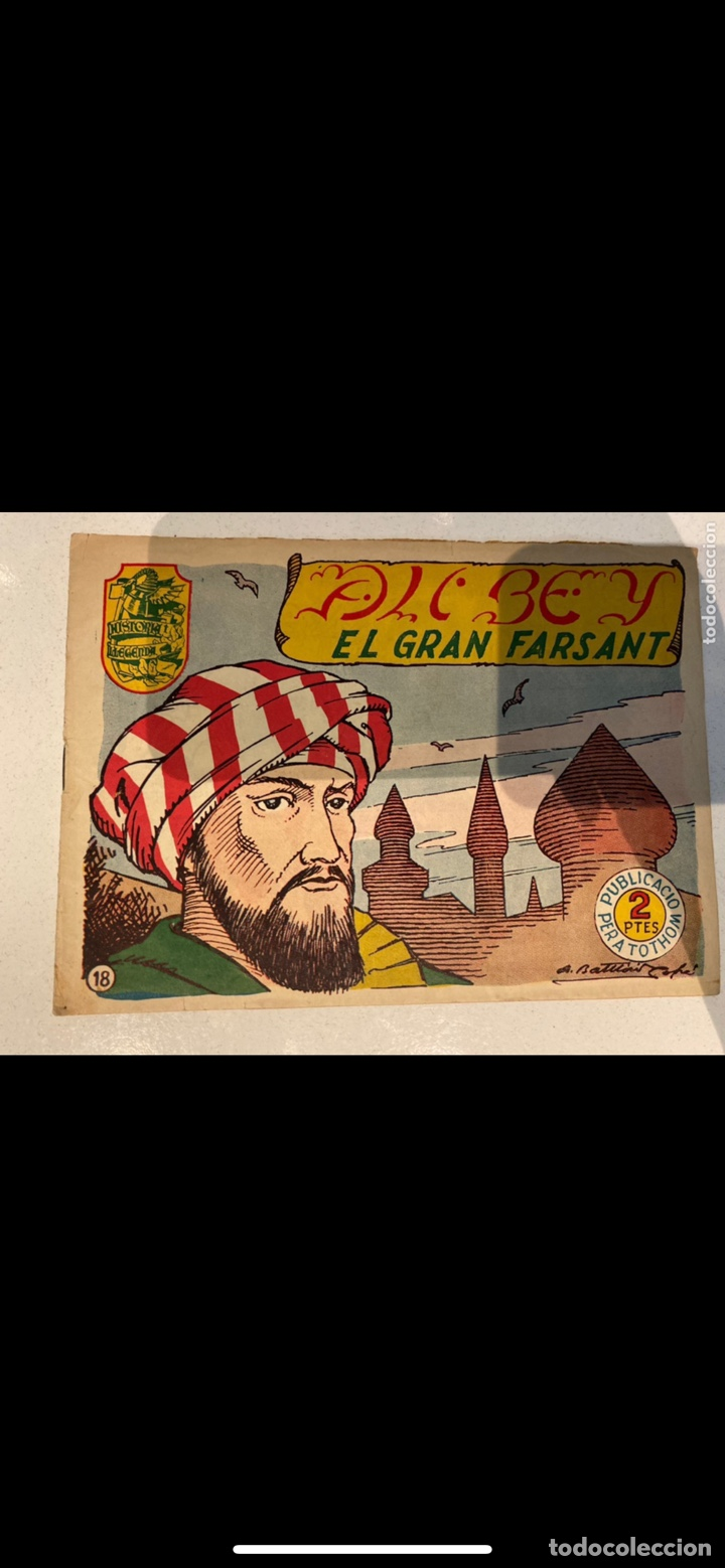 Tebeos: HISTORIA I LLEGENDA ... lote de 14CUADERNILLOS EN ORIGINAL - Foto 11 - 224130220