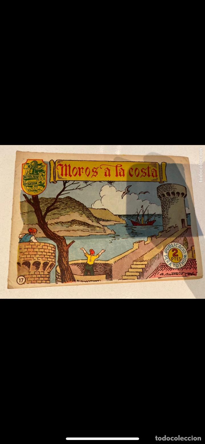 Tebeos: HISTORIA I LLEGENDA ... lote de 14CUADERNILLOS EN ORIGINAL - Foto 13 - 224130220
