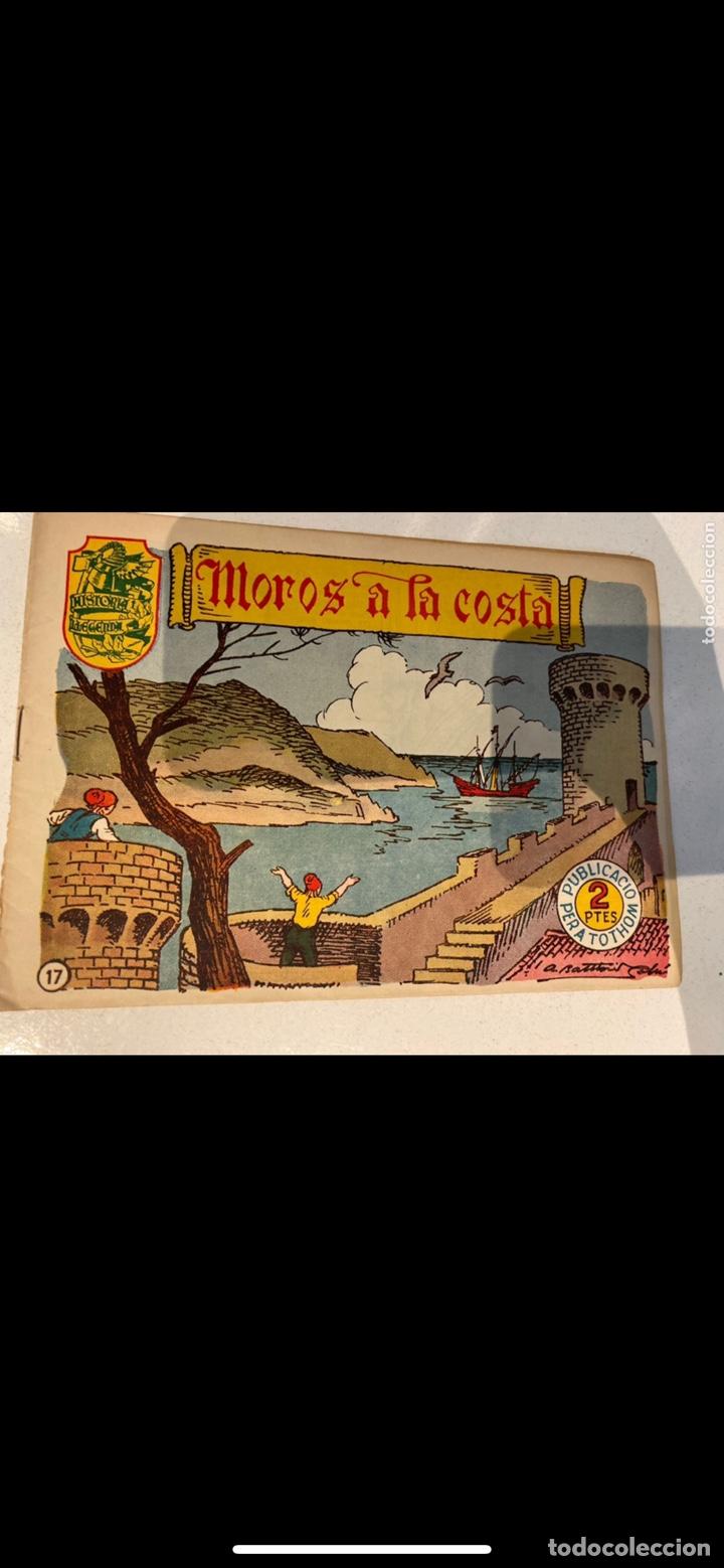 Tebeos: HISTORIA I LLEGENDA ... lote de 14CUADERNILLOS EN ORIGINAL - Foto 14 - 224130220
