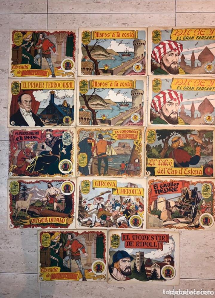 HISTORIA I LLEGENDA ... LOTE DE 14CUADERNILLOS EN ORIGINAL (Tebeos y Comics - Hispano Americana - Otros)