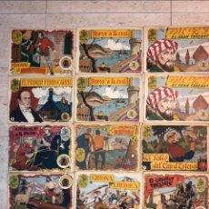 Tebeos: HISTORIA I LLEGENDA ... LOTE DE 14CUADERNILLOS EN ORIGINAL. Lote 224130220