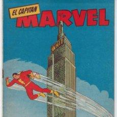 Tebeos: EL CAPITÁN MARVEL - Nº 27 - ENTERRADO VIVO - 1960 *** HISPANO AMERICANA EDICIONES***. Lote 224169002