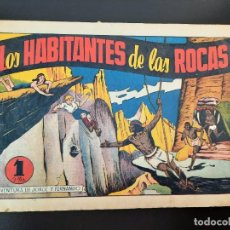 Tebeos: JORGE Y FERNANDO (1940, HISPANO AMERICANA) 38 · 1940 · LOS HABITANTES DE LAS ROCAS. Lote 224816212