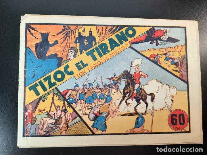 CARLOS EL INTREPIDO (1942, HISPANO AMERICANA) 3 · 1942 · TIZOK EL TIRANO (Tebeos y Comics - Hispano Americana - Carlos el Intrépido)