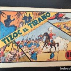 Tebeos: CARLOS EL INTREPIDO (1942, HISPANO AMERICANA) 3 · 1942 · TIZOK EL TIRANO. Lote 224848546