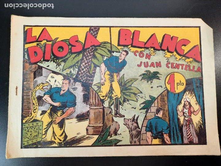 JUAN CENTELLA (1940, HISPANO AMERICANA) 53 · 1940 · LA DIOSA BLANCA (Tebeos y Comics - Hispano Americana - Juan Centella)