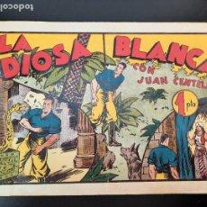 Tebeos: JUAN CENTELLA (1940, HISPANO AMERICANA) 53 · 1940 · LA DIOSA BLANCA. Lote 224852961