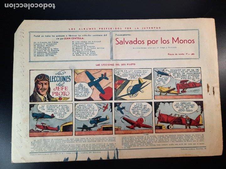 Tebeos: JUAN CENTELLA (1940, HISPANO AMERICANA) 53 · 1940 · LA DIOSA BLANCA - Foto 2 - 224852961