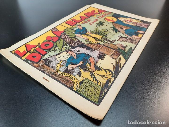 Tebeos: JUAN CENTELLA (1940, HISPANO AMERICANA) 53 · 1940 · LA DIOSA BLANCA - Foto 3 - 224852961