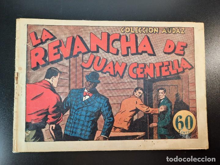 JUAN CENTELLA (1940, HISPANO AMERICANA) 34 · 1940 · LA REVANCHA DE JUAN CENTELLA (Tebeos y Comics - Hispano Americana - Juan Centella)