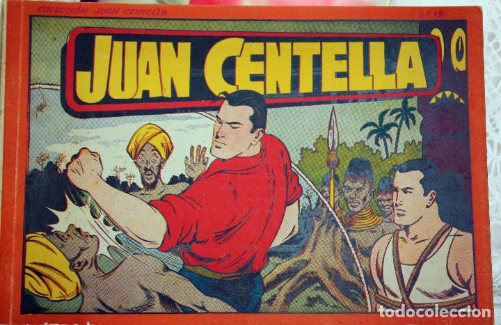 JUAN CENTELLA- ALBUM NUM 12 - ORIGINAL (Tebeos y Comics - Hispano Americana - Juan Centella)