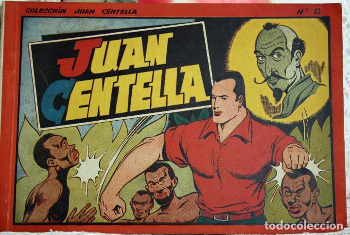 JUAN CENTELLA- ALBUM NUM 13 - ORIGINAL (Tebeos y Comics - Hispano Americana - Juan Centella)