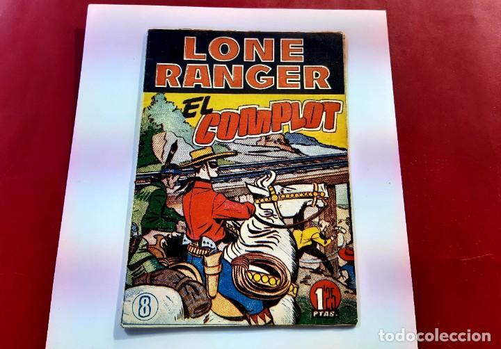 LONE RANGER -EL COMPLOT- Nº 8 - (Tebeos y Comics - Hispano Americana - Otros)