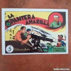 Tebeos: JUAN CENTELLA - LA PANTERA AMARILLA + LA PEÑA DEL SILENCIO. NUM 5. REEDICION. Lote 225495200