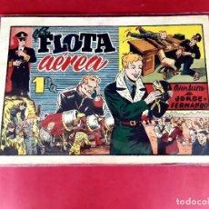 BDs: JORGE Y FERNANDO -LA FLOTA AEREA -ORIGINAL - 21 X 31-. Lote 226277605
