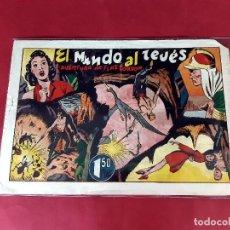 Tebeos: AVENTURA DE FLAS GORDON- EL MUNDO AL REVÉS- EDITORAL HISPANO AMERICANA-21X31. Lote 226278086