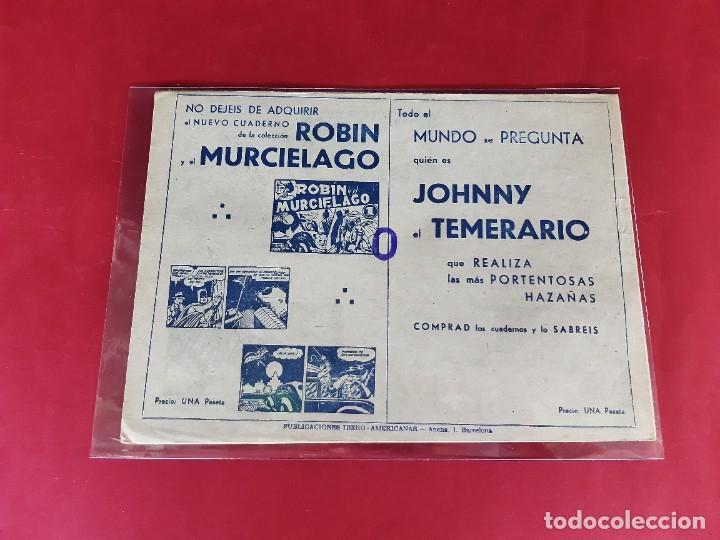 Tebeos: JHONNY EL TEMERARIO Nº 4 -PARA SIBARITAS DEL TEBEO ESPAÑOL-EXCELENTE ESTADO-Jaume Rumeu Perera - Foto 2 - 226285752