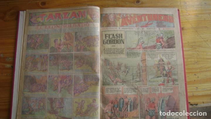 AVENTURERO HISPANO AMERICANA LOS DIFICILES PEQUEÑOS TOMO CON EL ULTIMO Y OTROS VER DESCRIPCION ESTIN (Tebeos y Comics - Hispano Americana - Aventurero)