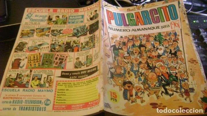 PULGARCITO BRUGUERA ALMANAQUE PARA 1967 CJ 5 (Tebeos y Comics - Hispano Americana - Aventurero)
