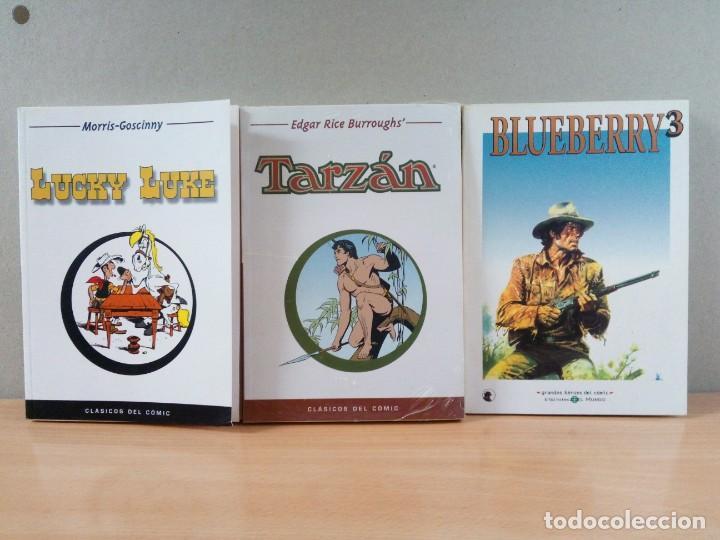 LOTE DE 3 LIBRO COMICS PLANETA (Tebeos y Comics - Hispano Americana - Tarzán)