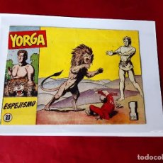 Tebeos: YORGA Nº 20 (H. AMERICANA - 1950) ORIGINAL-EXCELENTE ESTADO. Lote 227053790