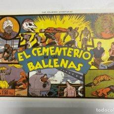 Tebeos: EL HOMBRE ENMASCARADO. EL CEMENTERIO DE LAS BALLENAS. HISPANO AMERICANA. FACSIMIL. PAGS: 16. Lote 227159340