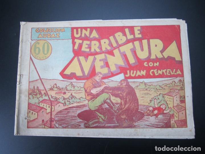 JUAN CENTELLA (1940, HISPANO AMERICANA) 24 · 1940 · UNA TERRIBLE AVENTURA (Tebeos y Comics - Hispano Americana - Juan Centella)
