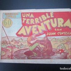 Tebeos: JUAN CENTELLA (1940, HISPANO AMERICANA) 24 · 1940 · UNA TERRIBLE AVENTURA. Lote 227195150