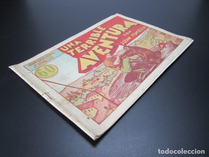 Tebeos: JUAN CENTELLA (1940, HISPANO AMERICANA) 24 · 1940 · UNA TERRIBLE AVENTURA - Foto 3 - 227195150