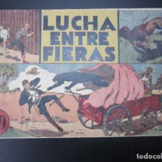 Tebeos: JORGE Y FERNANDO (1940, HISPANO AMERICANA) 14 · 1940 · LUCHA ENTRE FIERAS. Lote 227201569
