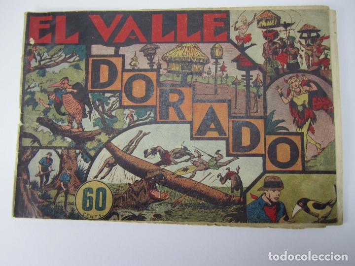 JORGE Y FERNANDO (1940, HISPANO AMERICANA) 16 · 1940 · EL VALLE DORADO (Tebeos y Comics - Hispano Americana - Jorge y Fernando)