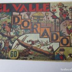 Tebeos: JORGE Y FERNANDO (1940, HISPANO AMERICANA) 16 · 1940 · EL VALLE DORADO. Lote 227203170