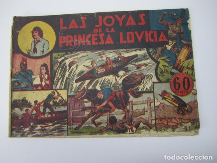 JORGE Y FERNANDO (1940, HISPANO AMERICANA) 7 · 1940 · LAS JOYAS DE LA PRINCESA LOVICIA (Tebeos y Comics - Hispano Americana - Jorge y Fernando)