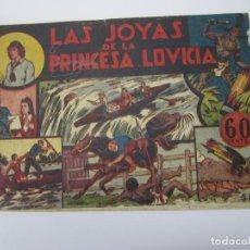 Tebeos: JORGE Y FERNANDO (1940, HISPANO AMERICANA) 7 · 1940 · LAS JOYAS DE LA PRINCESA LOVICIA. Lote 227209482