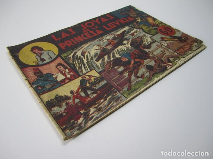 Tebeos: JORGE Y FERNANDO (1940, HISPANO AMERICANA) 7 · 1940 · LAS JOYAS DE LA PRINCESA LOVICIA - Foto 2 - 227209482
