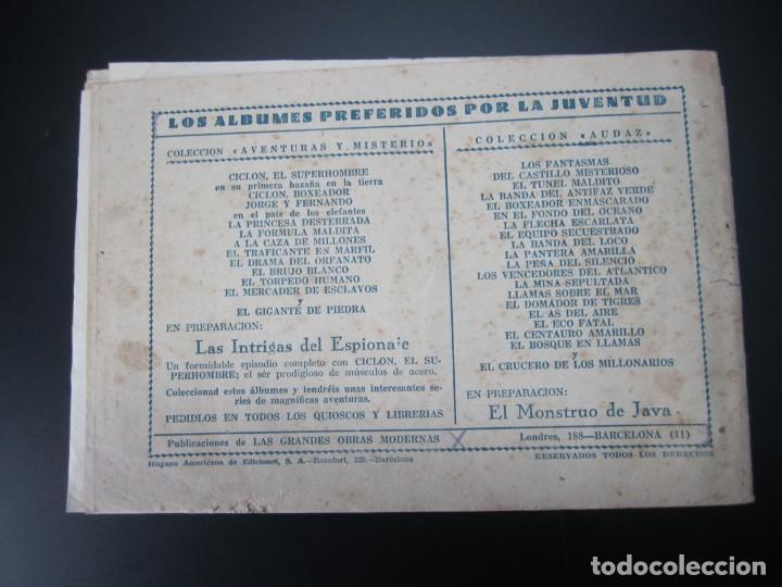 Tebeos: JORGE Y FERNANDO (1940, HISPANO AMERICANA) 7 · 1940 · LAS JOYAS DE LA PRINCESA LOVICIA - Foto 3 - 227209482