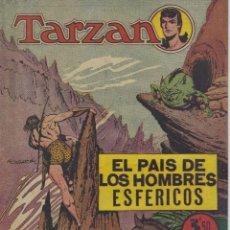Tebeos: TARZAN. EL PAIS DE LOS HOMBRES ESFERICOS. HISPANO AMERICANA. EXTRA 13. Lote 227476300