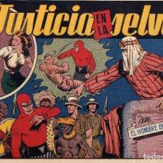 Tebeos: EL HOMBRE ENMASCARADO Nº 26 JUSTICIA EN LA SELVA ORIGINAL NUEVO. Lote 227689220
