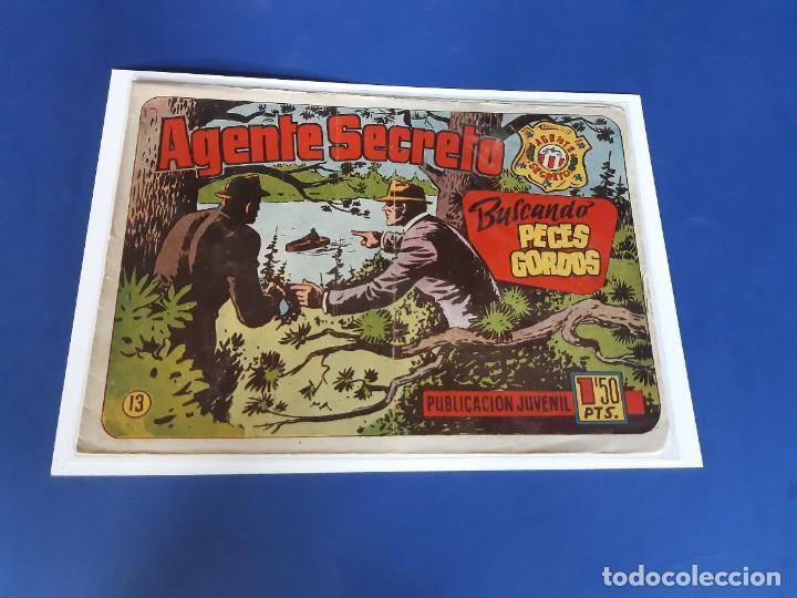 AGENTE SECRETO Nº 13 - ORIGINAL- HISPANO AMERICANA (Tebeos y Comics - Hispano Americana - Otros)